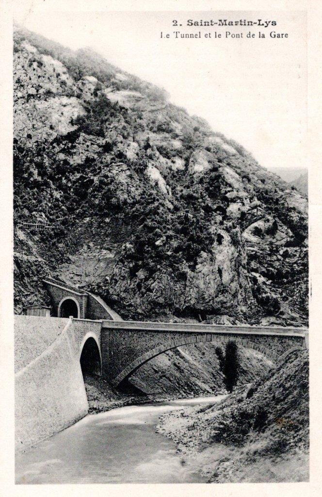 Brücke, Hangviadukt und der Tunnel du Bourrec