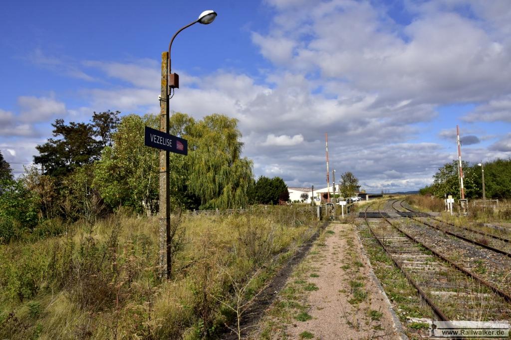 Im Bahnhof Vezelise
