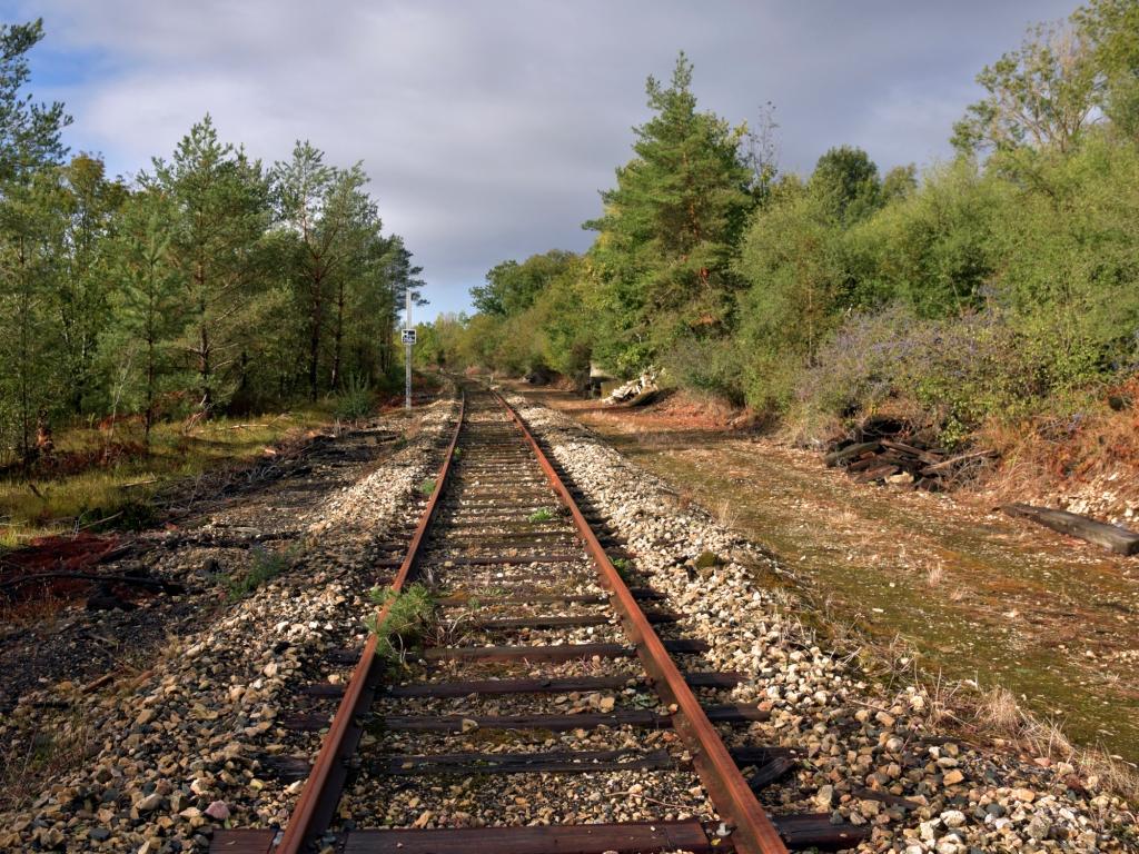 Auf der Strecke Richtung Bologne, kurz hinter Neufchateau