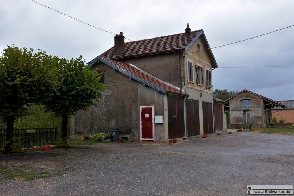 Swe Bahnhof von Saint-Blin - La Croisette.