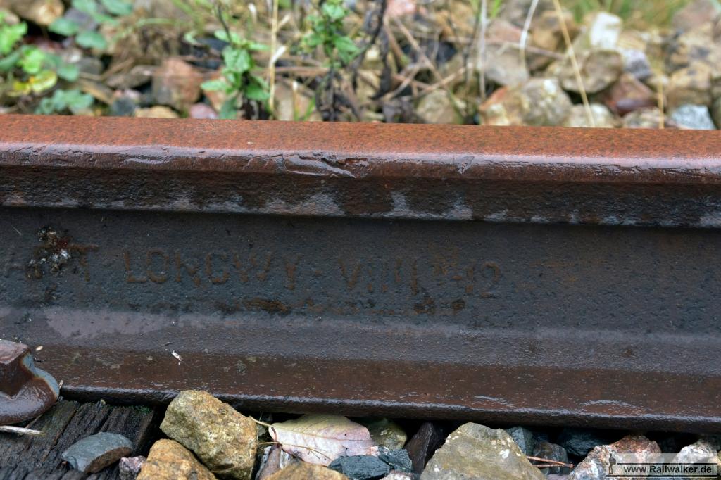 Eine Schiene von Longwy. Entweder 1912 oder 1942.