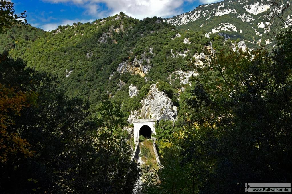 Ausblick auf das Viadukt.